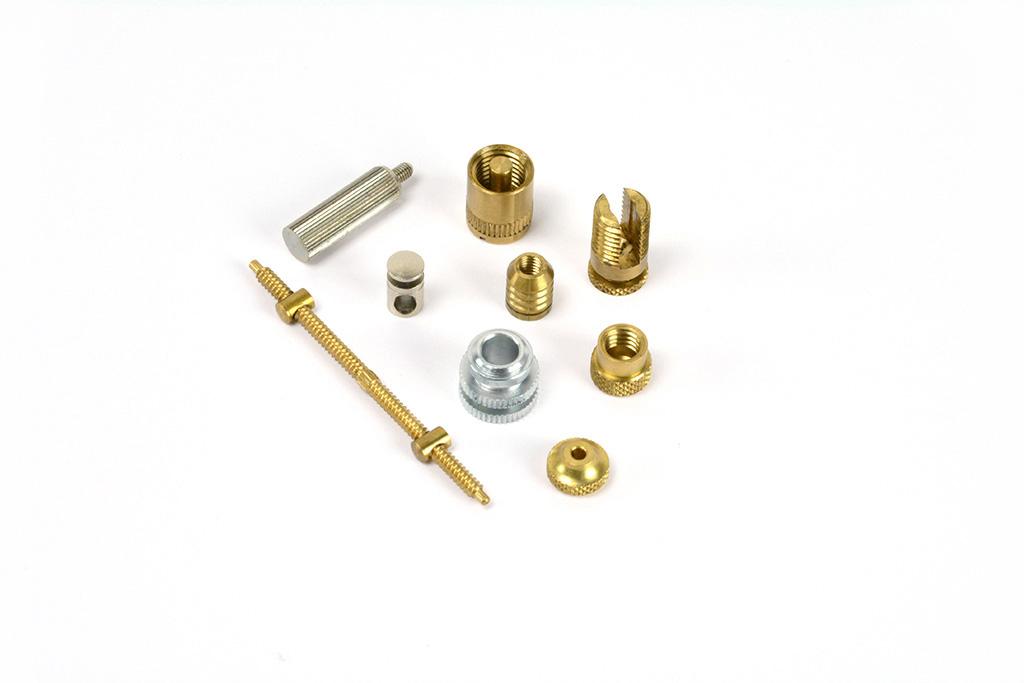 Miniatur-Drehteile (Messing)